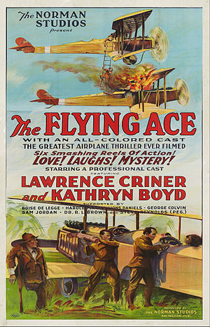 Norman Studios - Norman Studios poster for The Flying Ace (1926)