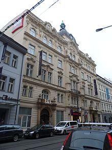 Sede dell'ex-istituto assicurativo anti infortunistico dove lavorò Kafka.