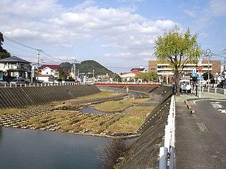 Nagayo, Nagasaki Town in Kyushu, Japan
