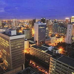 Nairobi economic capital of africa