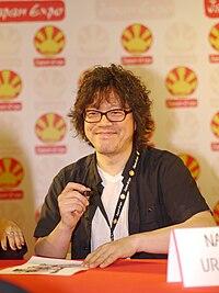Naoki Urasawa - Japan Expo 13- 2012-0706- P1410040.jpg