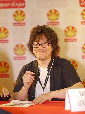 Naoki Urasawa - Naoki Urasawa at the 2012 Japan Expo, Paris