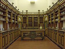 19th century Italian pharmacy