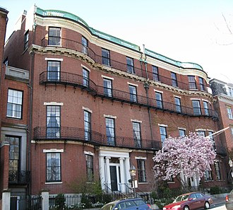 Nathan Appleton - Appleton House, Beacon Street, Boston.