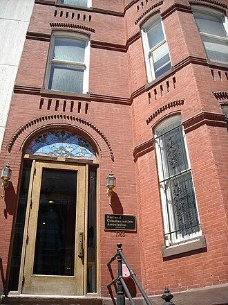 National Communication Association - National Communication Association office in Washington, D.C.