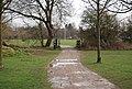National Cycleway 12 crosses a stream, Castle Grounds, Tonbridge - geograph.org.uk - 1200092.jpg