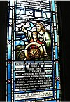 Naval Memorial Stained Glass Window, Currie Hall, Currie Building, Royal Military College of Canada.jpg