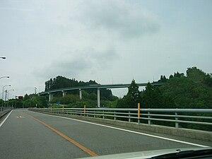 Japan National Route 325 - Image: Neisei loop bridge