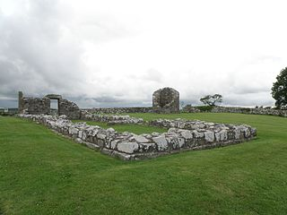 Nendrum Monastery Christian monastery on Mahee Island in Strangford Lough, County Down, Northern Ireland