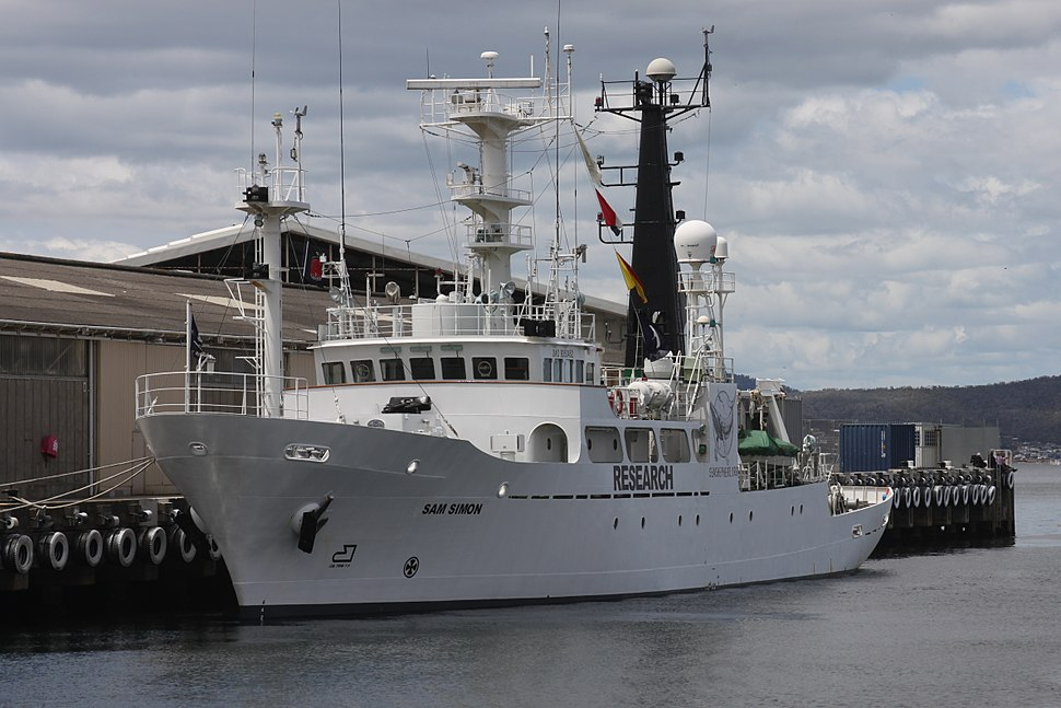 Neptune Navy - MY Sam Simon-Hobart 2012