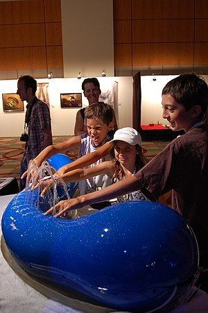 SIGGRAPH - Hydraulophone, presented at SIGGRAPH 2007.