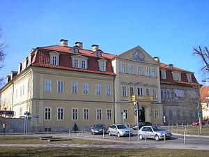 Das Neue Palais in Arnstadt
