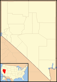A map of Nevada
