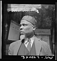 "New York, New York. A follower of the late Marcus Garvey who started the ""Back to Africa"" movement 8d28526v.jpg"