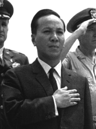 Leaders of South Vietnam - Image: Nguyen Van Thieu 1967