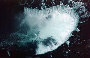 Niagara Falls Horseshoe aerial view