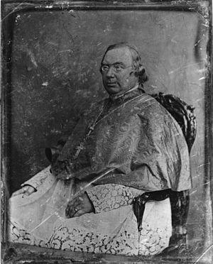 Nicholas Wiseman - Cardinal Wiseman, daguerreotype by Mathew Brady studio