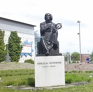 Nicolaus Copernicus Monument, Montreal - The monument in 2017