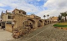 Foto del vecchio acquedotto della città di Nicosia