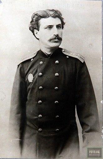 Nikolay Przhevalsky - Nikolay Przhevalsky in 1860 (age 21)