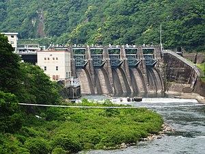 Nishidaira Dam.