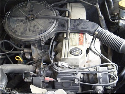 Nissan RB24S Engine, Carburetor, SOHC, Used In The Latin American Market  Laurel Altima