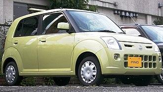 Nissan Pino - Image: Nissan Pino c