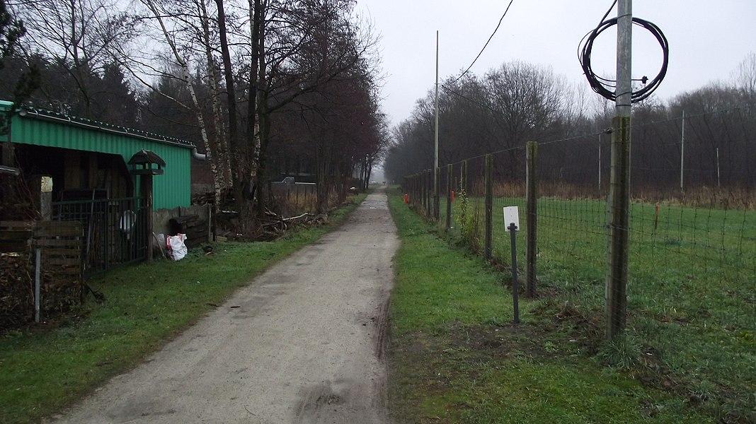 Vroegere buurtspoorwegroute vanaf vanaf St-Jozef Rijkevorsel naar Merksplas, nu een wandelroute.