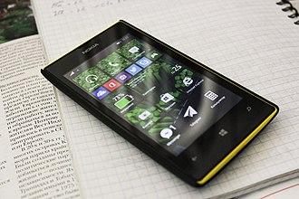 Microsoft Lumia - A Nokia Lumia 520