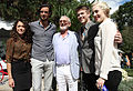 Norman Jewison and proteges at the CFC ANNUAL BBQ 2012.jpg