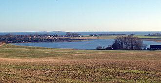 Norsminde Fjord - Image: Norsminde Fjord fra nord