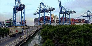 Port Klang - Image: Northport Malaysia Wharve