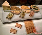 """Norway's WW2 Resistance Museum, Oslo (Hjemmefrontmuseet). The Austerity of Occupation - homegrown tobacco, ration stamps (""""hjemmeavlet tobakk""""). Photo 2017-11-30.jpg"""