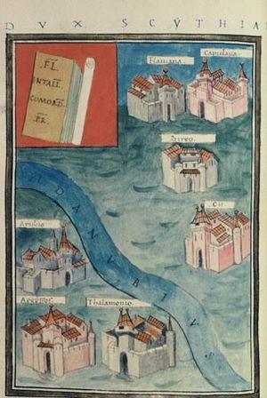 Capidava - Capidava on Notitia Dignitatum, Dux Scythiae