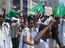 Mauritania-After the coup-Nouakchott-Dispersion des manifestants-2011