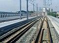 Nouveau Pont ferroviaire de Bordeaux et passerelle vus du train (2008) 1.JPG