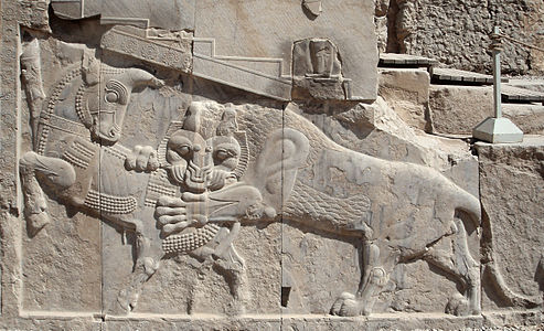 Bas-relief in Persepolis