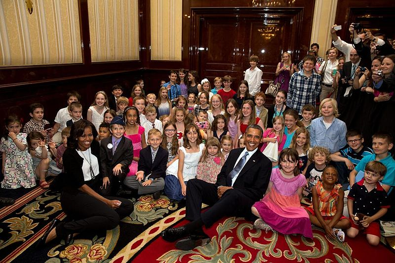 File:Obamas with children at U.S. embassy in Berlin, 2013.jpg