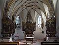 Obermenzing - Schloss Blutenburg - Kapelle - Altarraum 001.jpg
