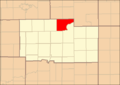 Ogle County Illinois Map Highlighting Byron Township.png