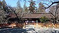 Oimatakubo-hachiman shrine Haiden March 2014.JPG