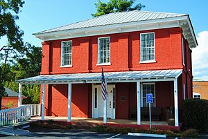 National Register of Historic Places listings in Dawson County, Georgia - Image: Old Dawson County, GA Jail