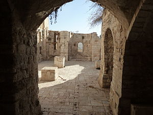 Church of Saint Mary of the Germans - Image: Old Jerusalem Remnants of St. Mary's church