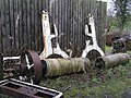Old machinery parts - geograph.org.uk - 716027.jpg
