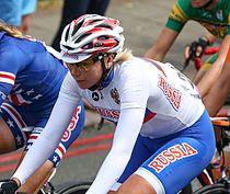 Olga Zabelinskaya London Olympic Road Race - July 2012.jpg