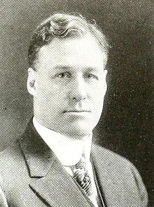 Oliver Cutts - Cutts pictured in Debris 1917, Purdue yearbook