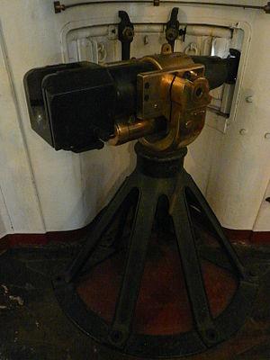 Driggs-Schroeder - Breech of a Driggs-Schroeder 6-pounder gun on USS Olympia.