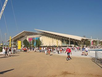 O.A.C.A. Olympic Indoor Hall - The arena during the 2004 Summer Olympics.
