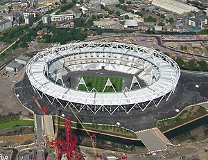 Det Olympiske Stadion i London