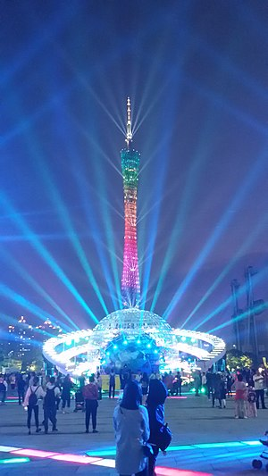 One World One Dream & Southern Square Light Show for Canton Tower (Evening).jpg